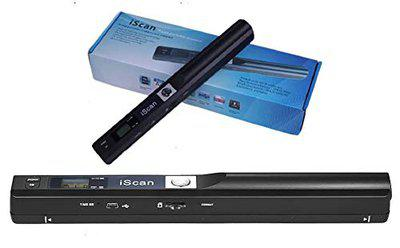 Microware iScan Portable Scanner Mini Handheld Document Scanner A4 Book Scanner JPG and PDF Format 300/600/900 DPI