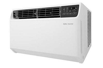 LG 1.5 Ton 3 Star Inverter Window AC (Copper, JW-Q18WUXA, white,Dual Protection Filter)