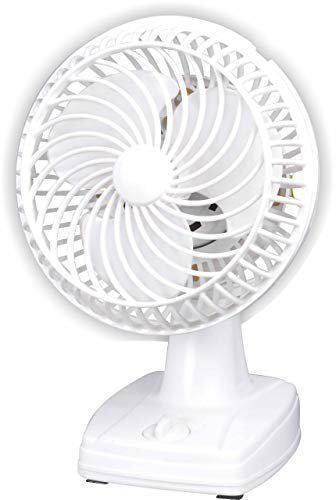 Varshine Laurels || wallcum Table Fan || Cutie (9 inch) White || with Copper Winding || 1 Year Warranty W-33