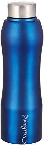 Neelam Gymbo Stainless Steel Fridge Bottle Blue 500 ml