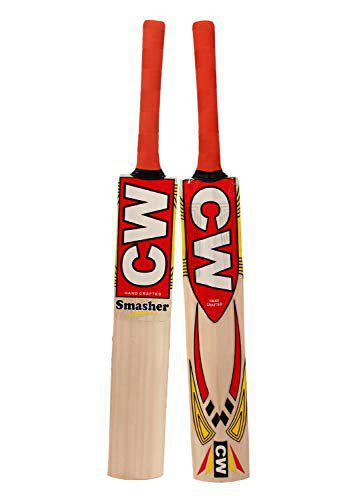 Pack of 2 Tennis Kashmir Willow Cricket Bat Smasher Kids Size 4 for 7-9 Yrs Age Children
