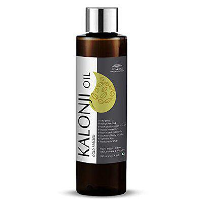 All Naturals 100% Pure Kalonji (Black Seed) Oil Cold-Pressed for Skin Toning, Hair & Massage - 100ml