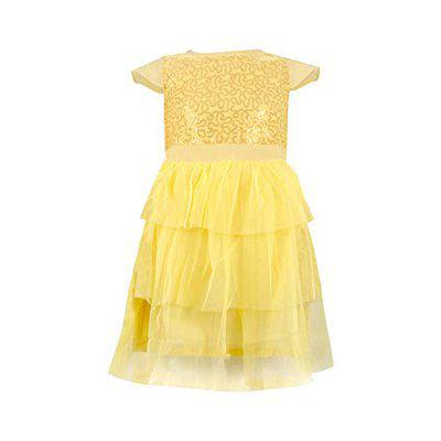 Tales & Stories Sequin and Net Girls Dress