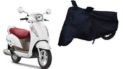Sheen Universal Black Bike Cover for Access (Dust Resistant, Sunlight Protection)