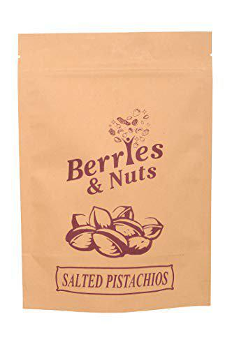 Berries And Nuts Roasted & Salted Pista   Salted Pistachios, Namkeen Pista   500 Grams