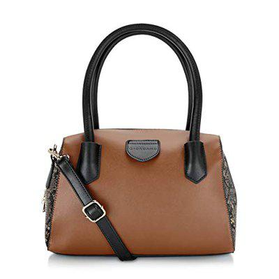 Giordano Women's Satchel Handbag Brown