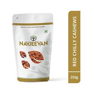 Navjeevan Red Chilly Cashews 250 Grams