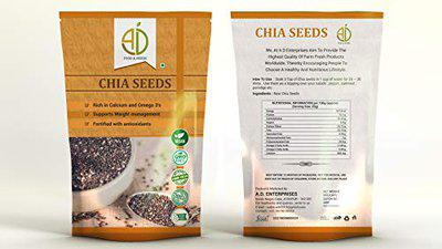 A D FOOD AND HERBS Organic Chia Seeds (100 g)