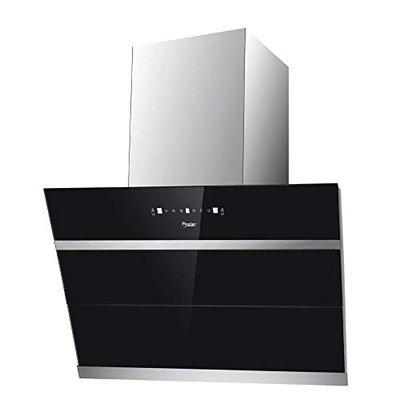 Prestige 90 cm 1100 m/HR Auto-Clean Angular Kitchen Chimney AKH 900 MSG 2 Baffle Filters Touch Control Black
