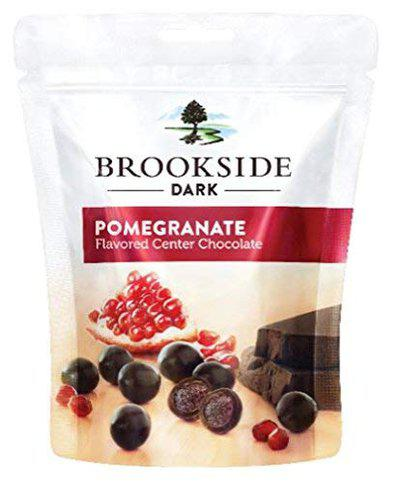 Brookside Flavored Center Chocolate - Pomegranate Pouch, 6 X 33 g