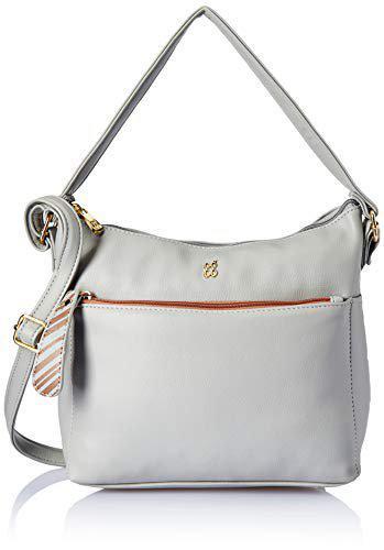 Baggit Women's Messenger Bag (Grey)