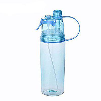 VIRTUAL WORLD Spray Water Bottle Straw Outdoor Bicycle Cycling Sports Gym, Outdoor Sports, Summer Bottles (Multicolor)