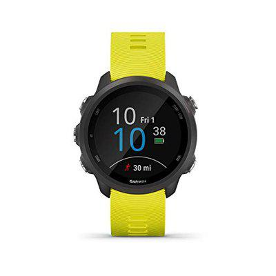 Garmin Forerunner 245 Rubber Smart Watch (Yellow)