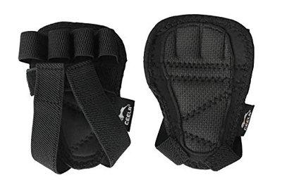 Ceela Sports Best Workout Gloves Alternative   Weight-Lifting Gym Training Anti-Slip Grip Pads   Support Power-Lifting, Body-Building, Fitness for Men & Women