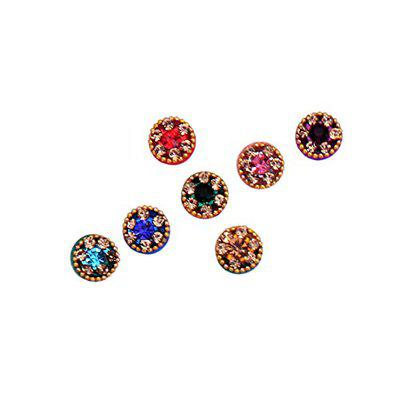 Sunaina New Love Collection Multicolour Small Size Round Bindis for Women [NLC557]