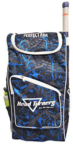 HeadTurners Duffle Cricket Kit Bag Individual Style- Kit Bag only- Perfect Pak (Texture)$ (Blue)