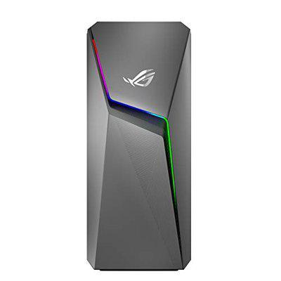 ASUS ROG Strix GL10CS Intel Core i7-9700K 9th Gen Gaming Desktop (8GB RAM/256GB NVMe SSD/Windows 10/6GB NVIDIA GeForce RTX 2060 Graphics/with Keyboard & Mouse/Iron Gray), GL10CS-IN042T