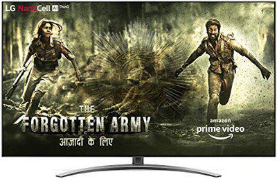 LG 189 cm (75 inches) 4K Ultra HD Smart NanoCell TV 75SM9400PTA (Ceramic BK + Dark Steel Silver) (2019 Model)
