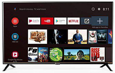 Micromax 102 cm (40 inches) Full HD LED Smart Certified Android TV 40CAM6SFHD (Black) (2019 Model)