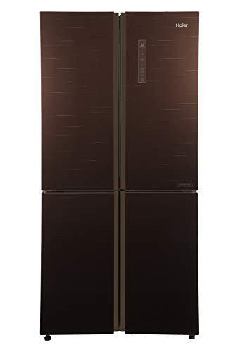 Haier 531 L Inverter Frost-Free Side-by-Side Refrigerator (HRB-550CG, Chocolate, Convertible)