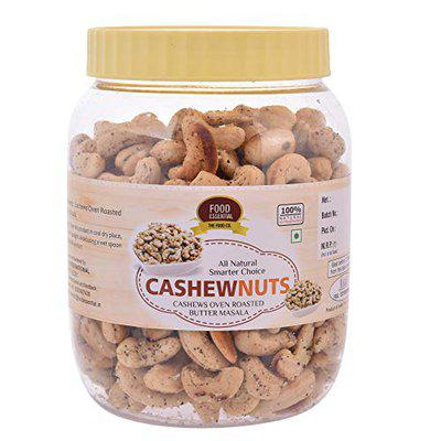 FOOD ESSENTIAL Cashews Oven Roasted Butter Masala, 250g