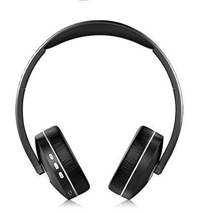 Intex BT-Rap Wireless Multimedia Bluetooth Headphone (Black)