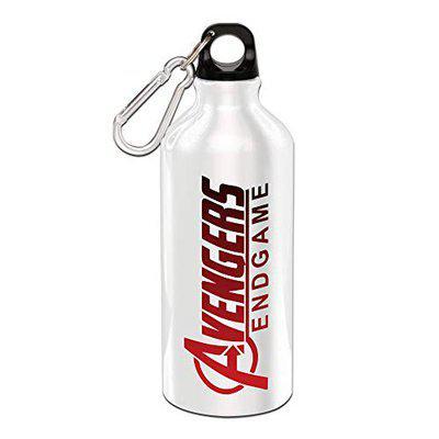 Ezellohub Avengers End Game Printed Sipper Bottle 600ML (Alluminium)