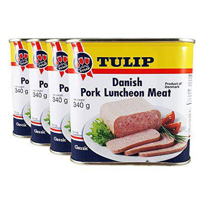 Tulip Pork Luncheon Meat, 340g, Pack of 4 Product of Denmark