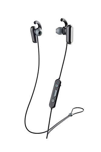 Skullcandy Method Active Noise Cancellation Wireless Earphone with IPX4 Sweat & Water Proof. Built in Tile Tracker for Easy Finding. (Black/Black/Grey)