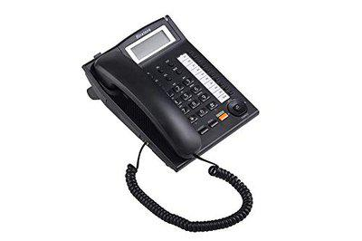 Binatone Concept 851 Corded Telephone with Clip & HF Speaker with 3- Step Tilt Angle Display