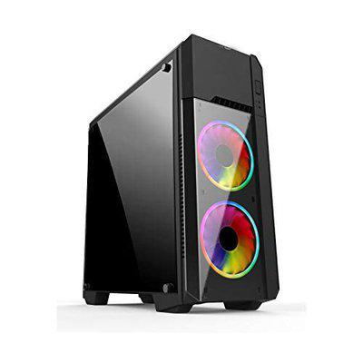 Electrobot i5 9th gen 6 core - Upto 4.10 Ghz, 8GB DDR4 2400Mhz, AMD RX 580 8GB, 120GB SSD, 1TB HDD, Gaming PC with 3 Rainbow Color Cooling Fans