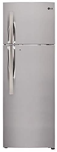 LG 284 L 3 Star Inverter Frost-Free Double Door Refrigerator (GL-T302RPZN, Shiny Steel)