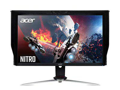 Acer Nitro XV273K 27 4K 3840 X 2160 IPS Gaming Monitor - 1 MS - 144 Hz - 350 Nits HDR 400- USB 3.0 HUB - Height Adjustment Pivot - Stereo Speakers - 2 X HDMI 2 X DP Port with DP USB 3.0 Cables
