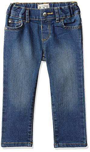 The Children's Place Baby Girl's Skinny Fit Jeans (2026564_Zooey Wash_9-12 Months)