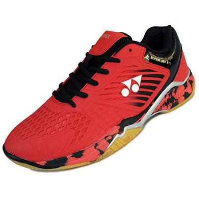 Yonex SuperAce Light Badminton Shoes - Red Black - 10