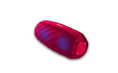 Philips BT6620R Wireless Portable Speakers (Red)