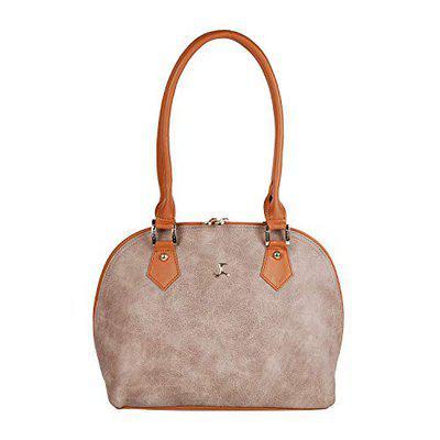 Mochi Women Beige Handbag (66-5069-20-10)