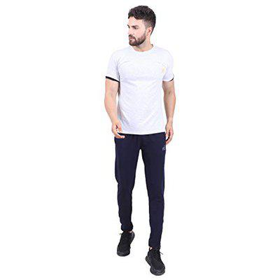 ISHU Track Pant for Menes, Boys Track Pant for Daily Uses Like for Gym, Home, Excise Blue