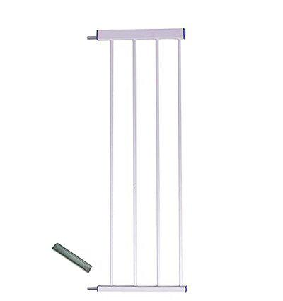 Baybee Baby Metal Safety Gate Extension (White, 300 mm /30 cm /12-inch Extension) ...