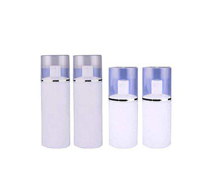 Morges Empty Spray Bottles for Perfume and Rose Water for Face Set of 4 White 25 Gram Pack of 1
