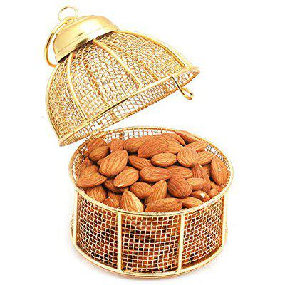 Ghasitaram Gifts Dryfruits - Golden Cage with Almonds