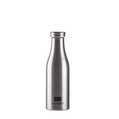 Polyset Coral Stainless Steel Water Bottle, 750 ml, 1-Piece, Silver