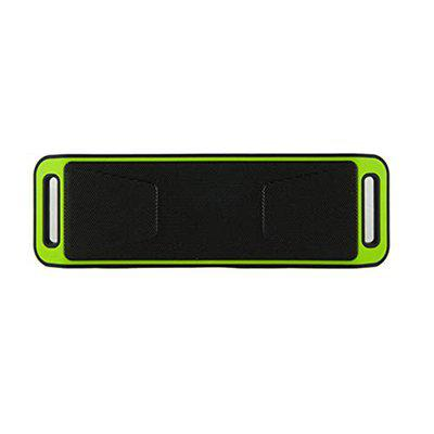 PINAAKI || Ultra Sound Boost Mini Portable Bluetooth Speaker Subwoofer Sound Box Support Micro SD/TF Card Audio Player Wireless CAR/Laptop/Home Audio, 4.1 Channel (Green)