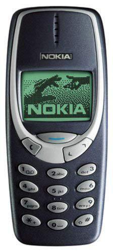 HMDN o k i a 3310 Antique Vintage Mobile Phone Blue