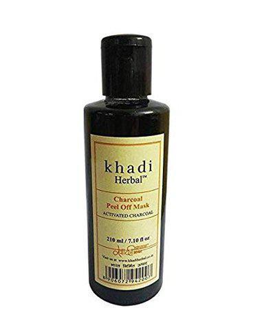 KHADI HERBAL CHARCOAL PEEL OFF MASK 210 ML (Fulfilled by S2M RETAIL)