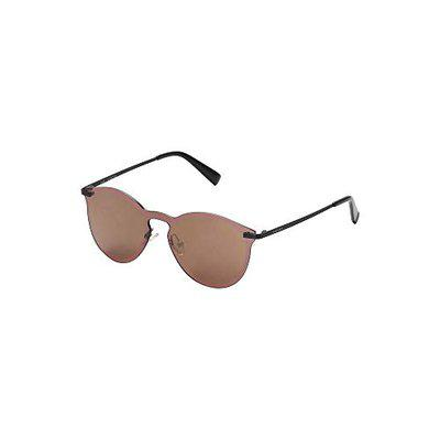 Fastrack Mirrored Round Women's Sunglasses - (M215SL3FN 51 Brown Color Lens)