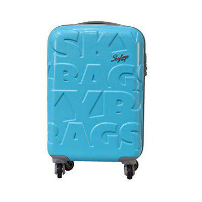 Skybags Ramp Hard Polycarbonate Trolley 79 Cm (blue)