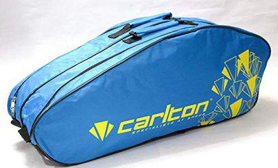 Carlton Airblade 2 Compartment Badminton Kit Bag (Blue/Yellow)