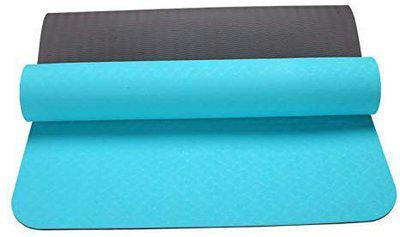 IRIS Fitness Non Slip TPE Yoga Mat for Hot Yoga Pilate Gymnastics, Double Sided (72 inch x 24 inch x 6 mm)