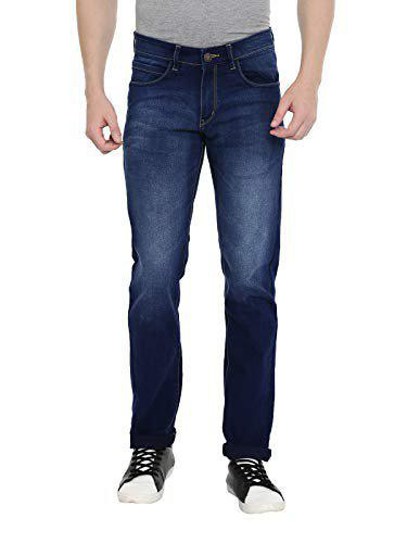 Classic Polo Men Blue Regular Fit Mid-rise Clean Look Jeans